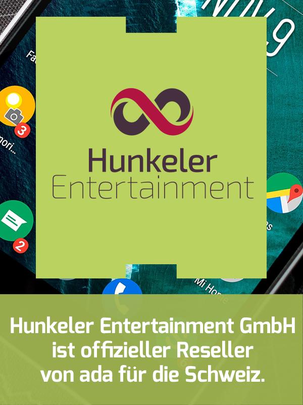 Hunkeler Entertainment, Mobile Marketing, Reseller, Schweiz